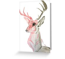 Dream Stag Greeting Card