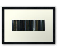 Moviebarcode: Prometheus (2012) Framed Print
