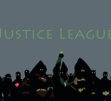 The Justice League in Young Justice by YJTees
