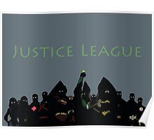 The Justice League in Young Justice Poster