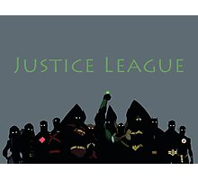 The Justice League in Young Justice Photographic Print