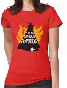Foolish Samurai Warrior Womens Fitted T-Shirt