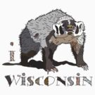 I LOVE WISCONSIN T-shirt by ethnographics
