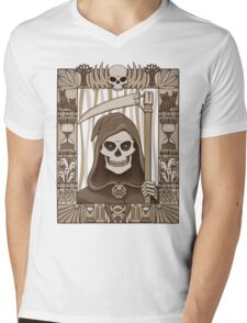 COWER BRIEF MORTALS Mens V-Neck T-Shirt