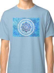 Watercolour Yin Yang Mandala Classic T-Shirt