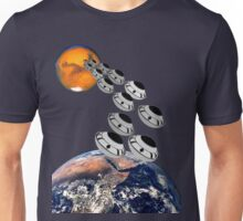 NAZA Reports a Fleet of UFOs has been Spotted T-shirt Unisex T-Shirt