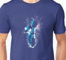 Mega Man Splattery T-Shirt Unisex T-Shirt