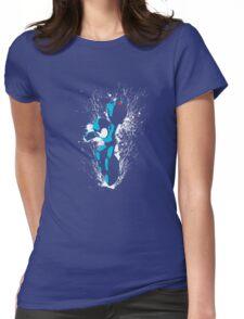 Mega Man Splattery T-Shirt Womens Fitted T-Shirt