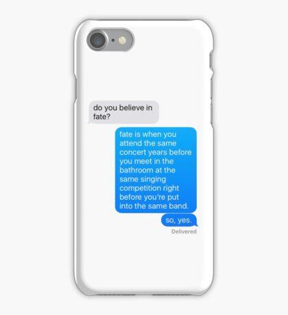 larry is fate iPhone Case/Skin