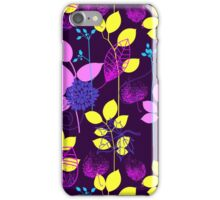 Foliage Lilac & Lemon [iPhone / iPod Case and Print] iPhone Case/Skin