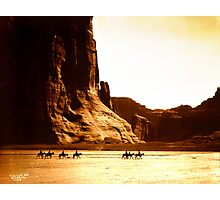 Vintage Photograph of Canyon de Chelly Photographic Print