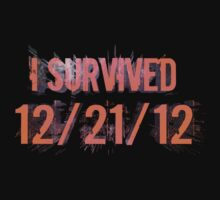 I Survived 12/21/12 One Piece - Long Sleeve