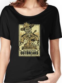 Outbreak Prevention Women's Relaxed Fit T-Shirt