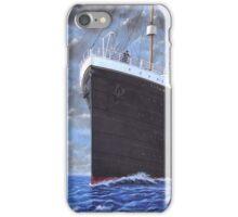 Titanic at sea full speed ahead iPhone Case/Skin