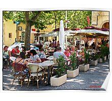 """ Memories of summer in Paris"" Poster"