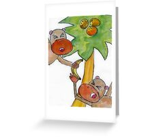 Jungle Fun Greeting Card