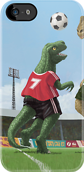 dinosaur football sport game by martyee