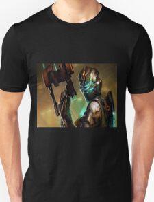 Dead Space - Isaac Clarke Concept Art Screen Unisex T-Shirt