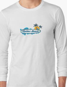Malibu - California. Long Sleeve T-Shirt