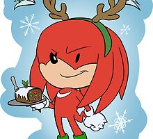 Christmas: & Knuckles by evay