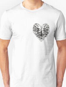 Heart Ribs T-Shirt