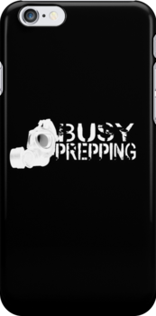 Busy Prepping Gas Mask by babydollchic