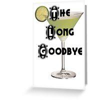 The Long Goodbye, Philip Marlow Greeting Card