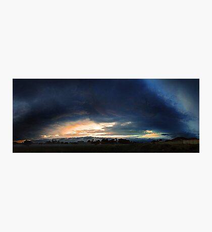 Severe Thunderstorm - December 13 2012  Photographic Print