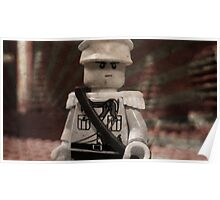 Lego Japanese Soldier Poster