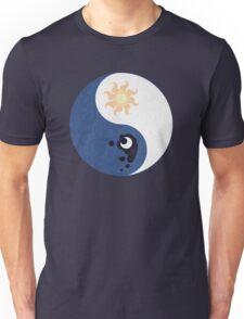 Celestia and Luna Yin Yang Unisex T-Shirt
