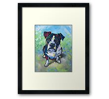 The Dog Framed Print