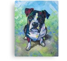 The Dog Canvas Print
