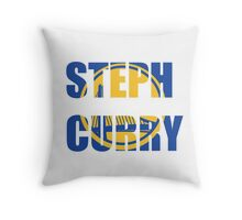 Steph Curry  Throw Pillow