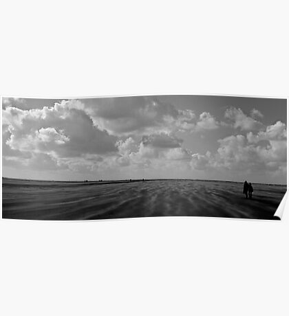 Landscape Texels beach  Poster