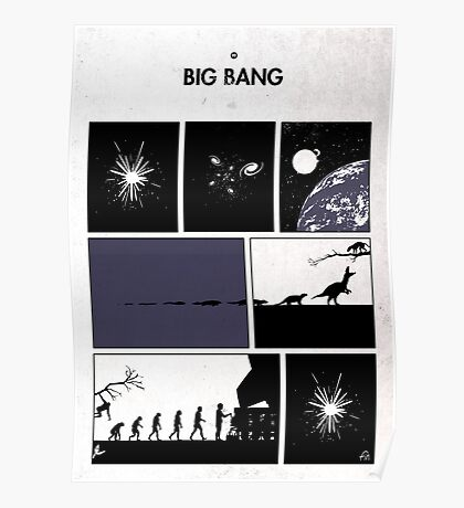 99 Steps of Progress - Big bang Poster