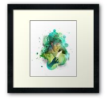 Dean Winchester -- Lost In The Wild 2 Framed Print