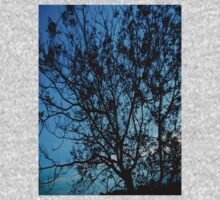 """""""Trees with Blue Sky"""" One Piece - Long Sleeve"""