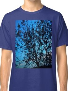 """Trees with Blue Sky"" Classic T-Shirt"