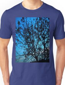 """Trees with Blue Sky"" Unisex T-Shirt"