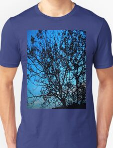 """Trees with Blue Sky"" by Chip Fatula T-Shirt"