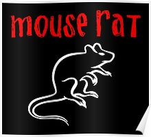 Mouse Rat Poster