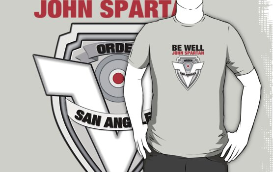 Be Well John Spartan by [original geek*] clothing