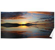 Sunrise, Princess Royal Habour, Albany, WA Poster