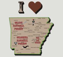 I Heart Arkansas by Maryevelyn Jones
