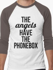 The Angels Have The Phonebox Men's Baseball ¾ T-Shirt