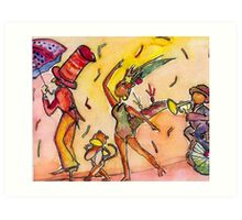 Summer Parade  Art Print