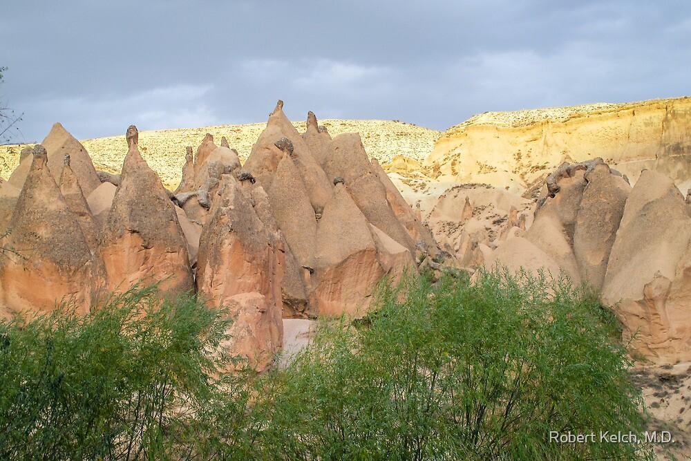 Cappadocia at Sunset by Robert Kelch, M.D.