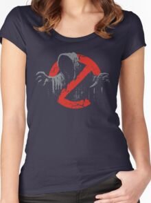 Ain't afraid of no wraith Women's Fitted Scoop T-Shirt