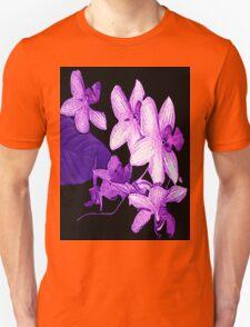 """""""Purple Orchids1"""" Unisex T-Shirt"""