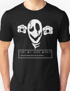 W.D. Gaster - Time and Space gets out of control. T-Shirt